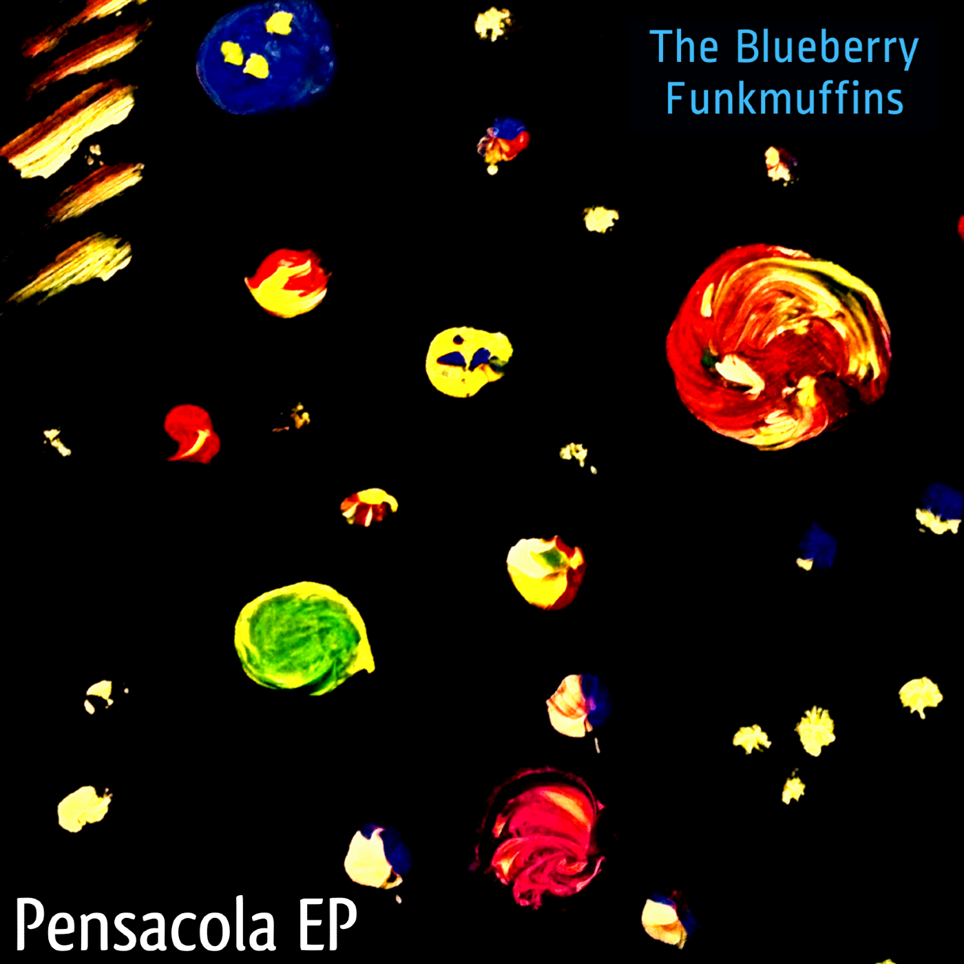Cover art for the EP Pensacola by The Blueberry Funkmuffins
