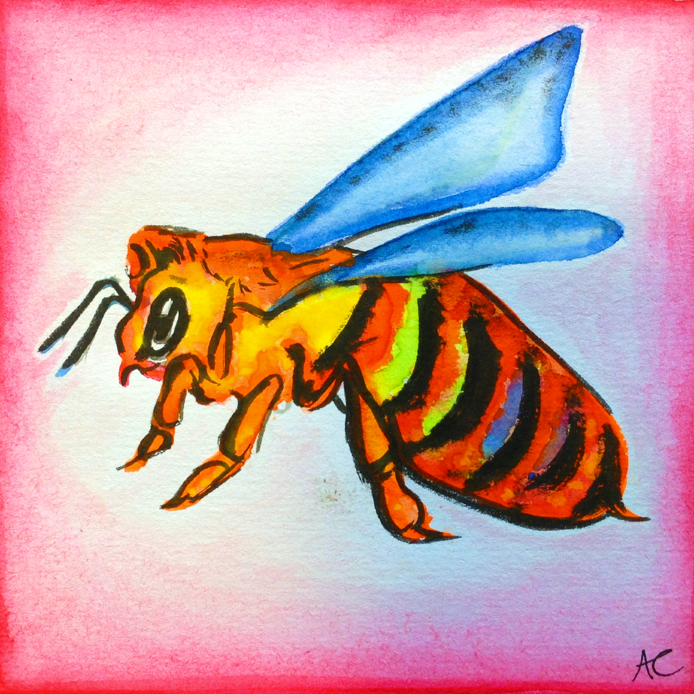 Cover art for the EP Let's Bee Silly by The Blueberry Funkmuffins